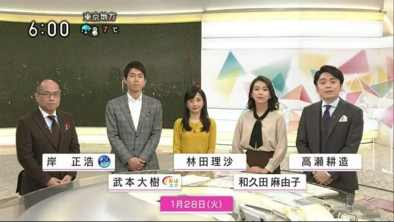 nhk おはよう 日本 の アナウンサー